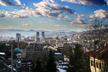 Sarajevo Landscape No1 by 3-De