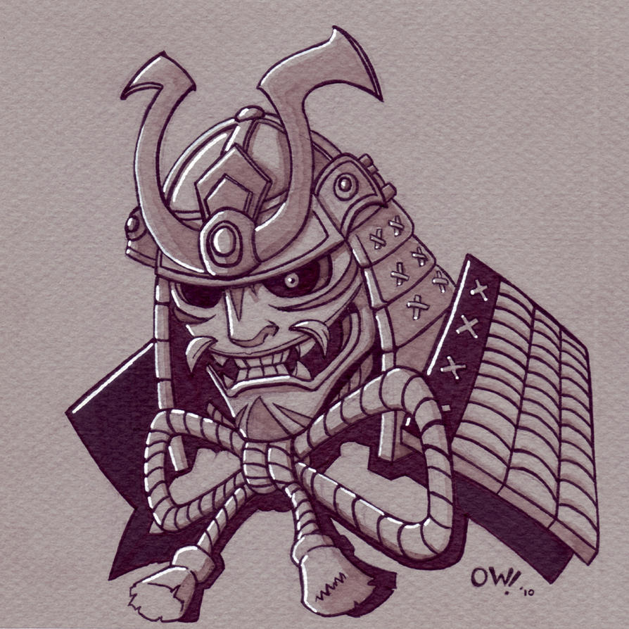 Samurai Helm by ElBrazo on DeviantArt