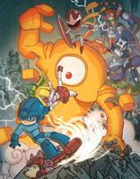 Udon Mega Man Tribute Book by ElBrazo