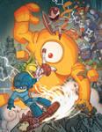 Udon Mega Man Tribute Book