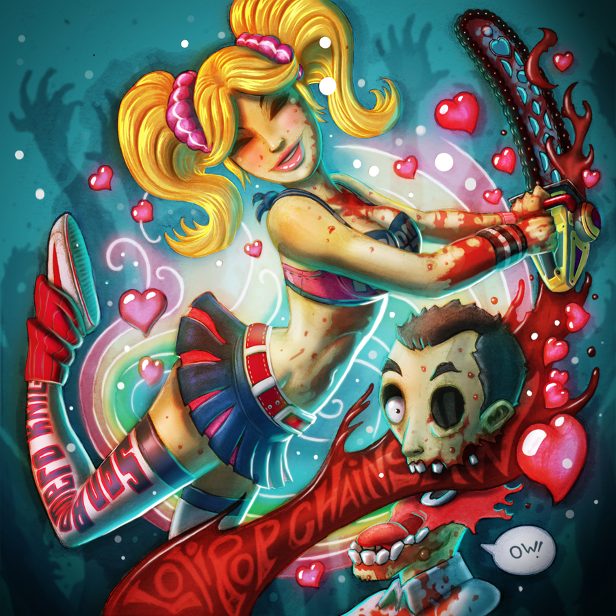 Lolipop Chainsaw by ElBrazo