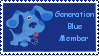 Generation Blue Stamp by TailsKriby