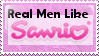Real Men Like Sanrio Stamp by TailsKriby