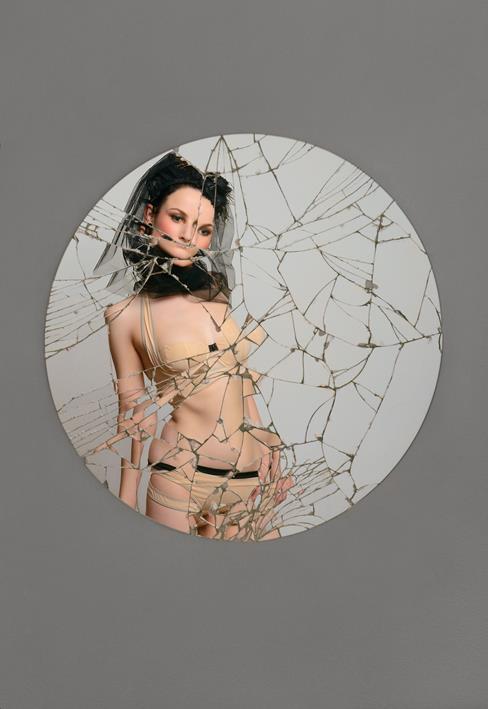 Broken mirror by evapechmarie on deviantart for Broken mirror art
