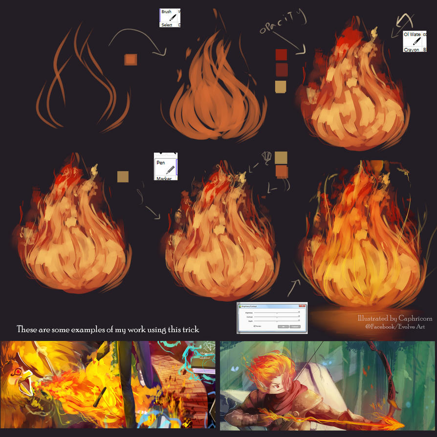 Tutorial How I make the Fire by Closz