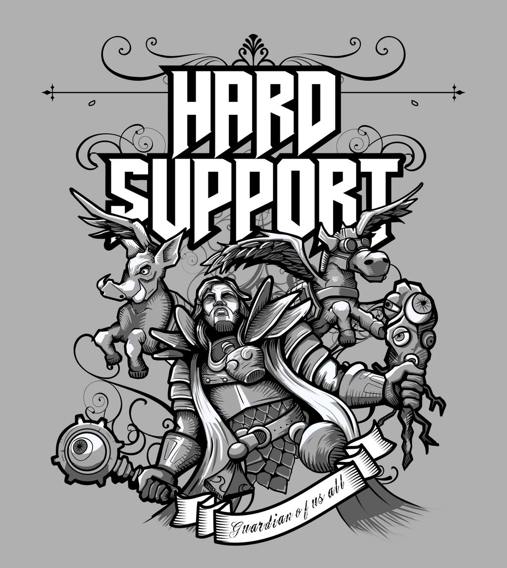 Hard Support Omniknight by wuhuli