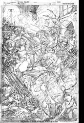 Alpha Trench vs Aquaman by IvanReisDC