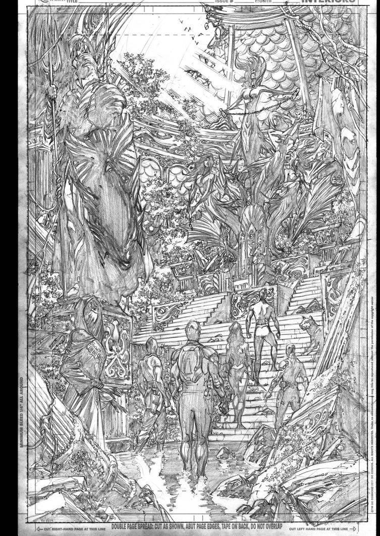 AQUAMAN 11 by IvanReisDC