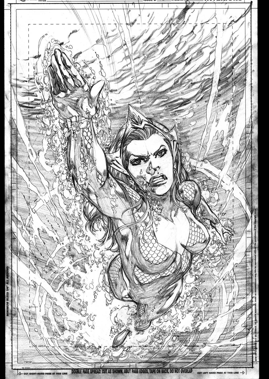 MERA AQ ISSUE 12 by IvanReisDC