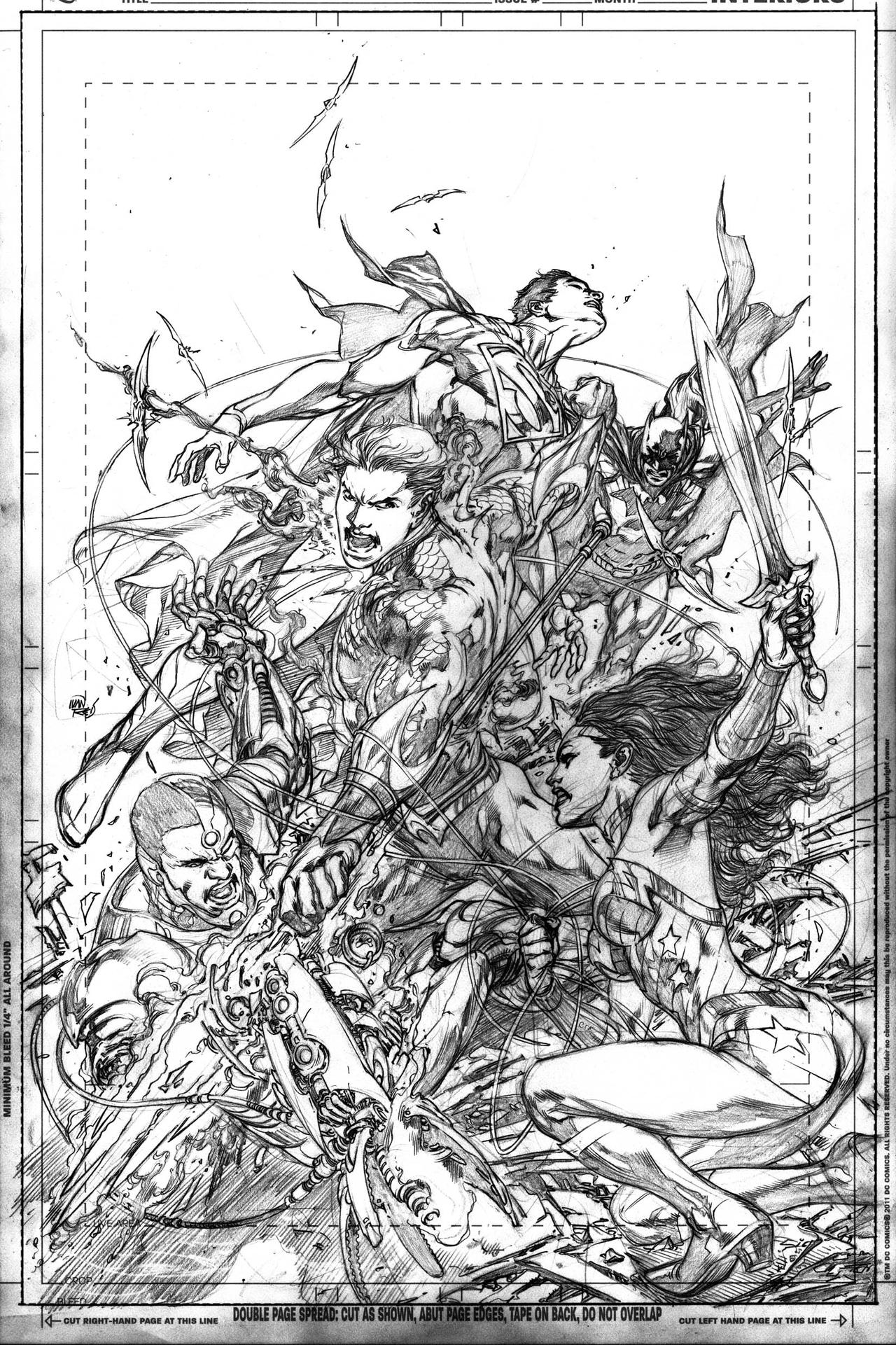 Justice League Issue 16 by IvanReisDC