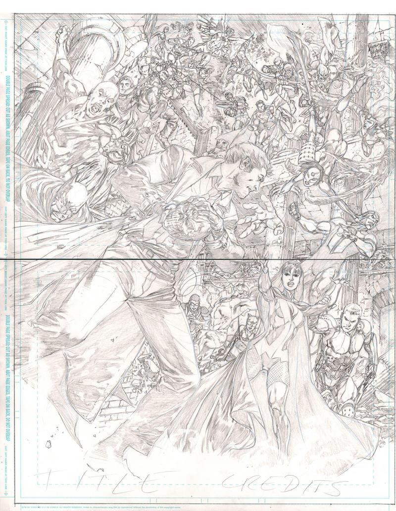 Justice League #23 pg 06/07 by IvanReisDC
