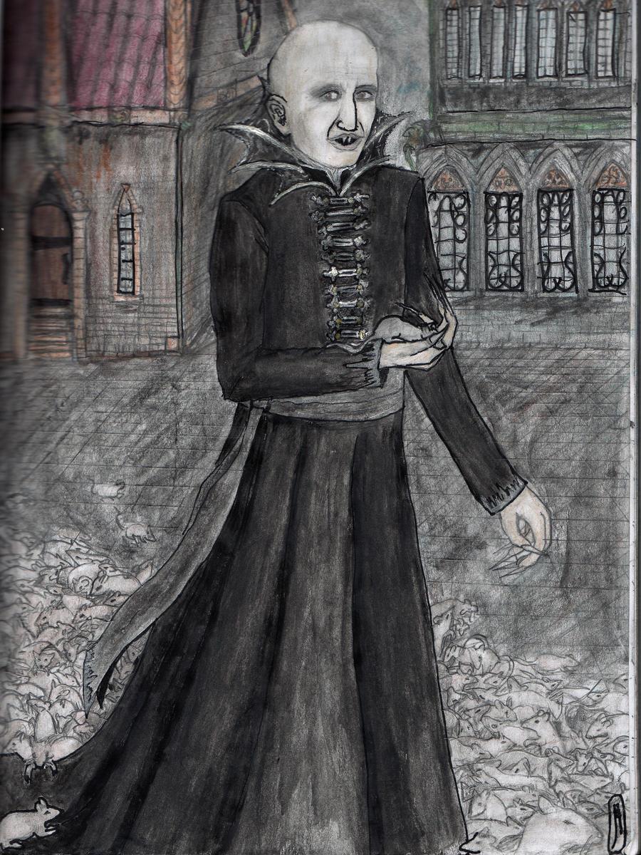 Nosferatu by YasminaMihaylovna
