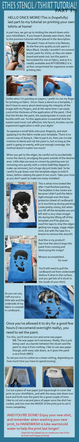 Make your own Tshirts - Part 3