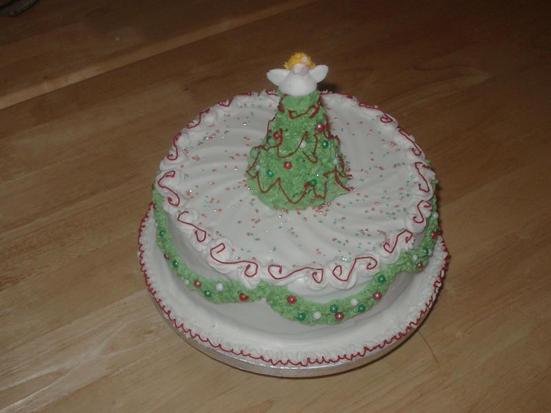 Good Food Fig Christmas Cake
