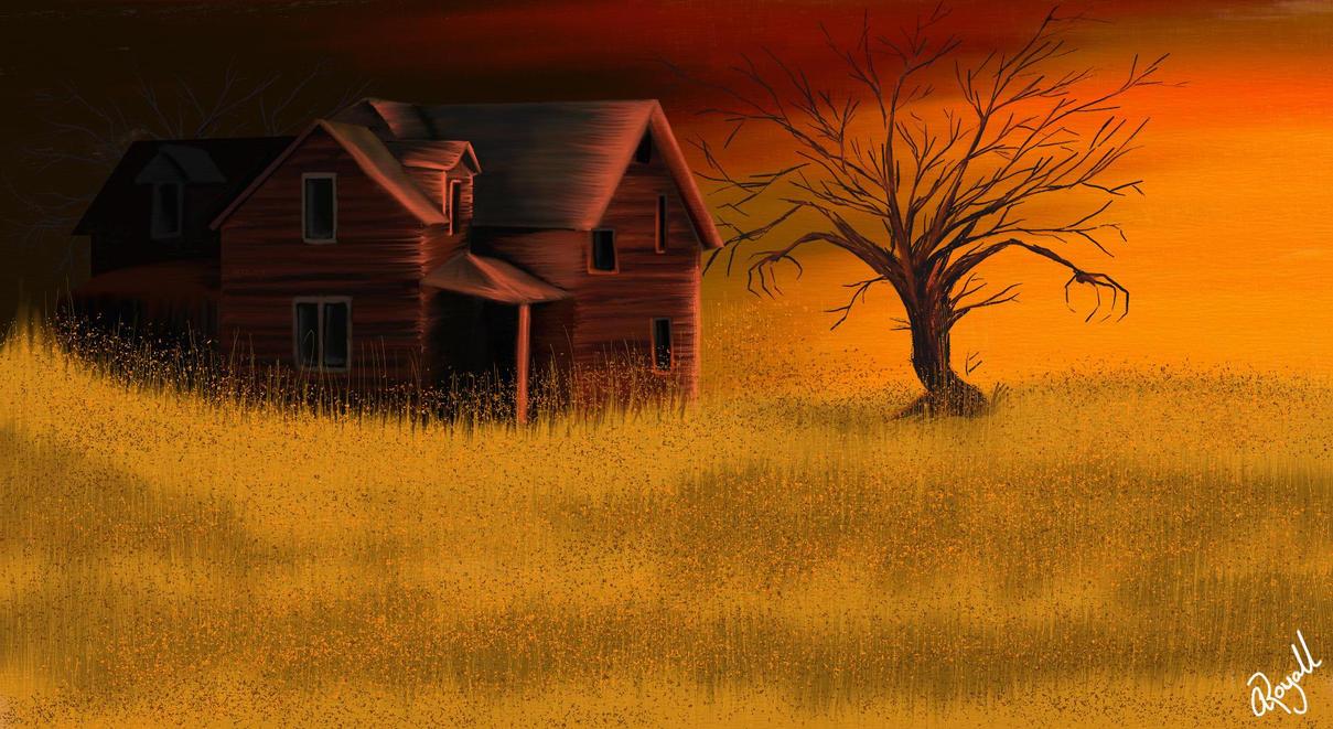 Halloween house by mannafig