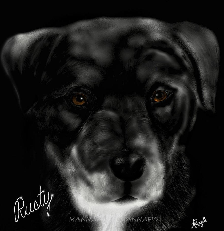 Tribute to Rusty by mannafig