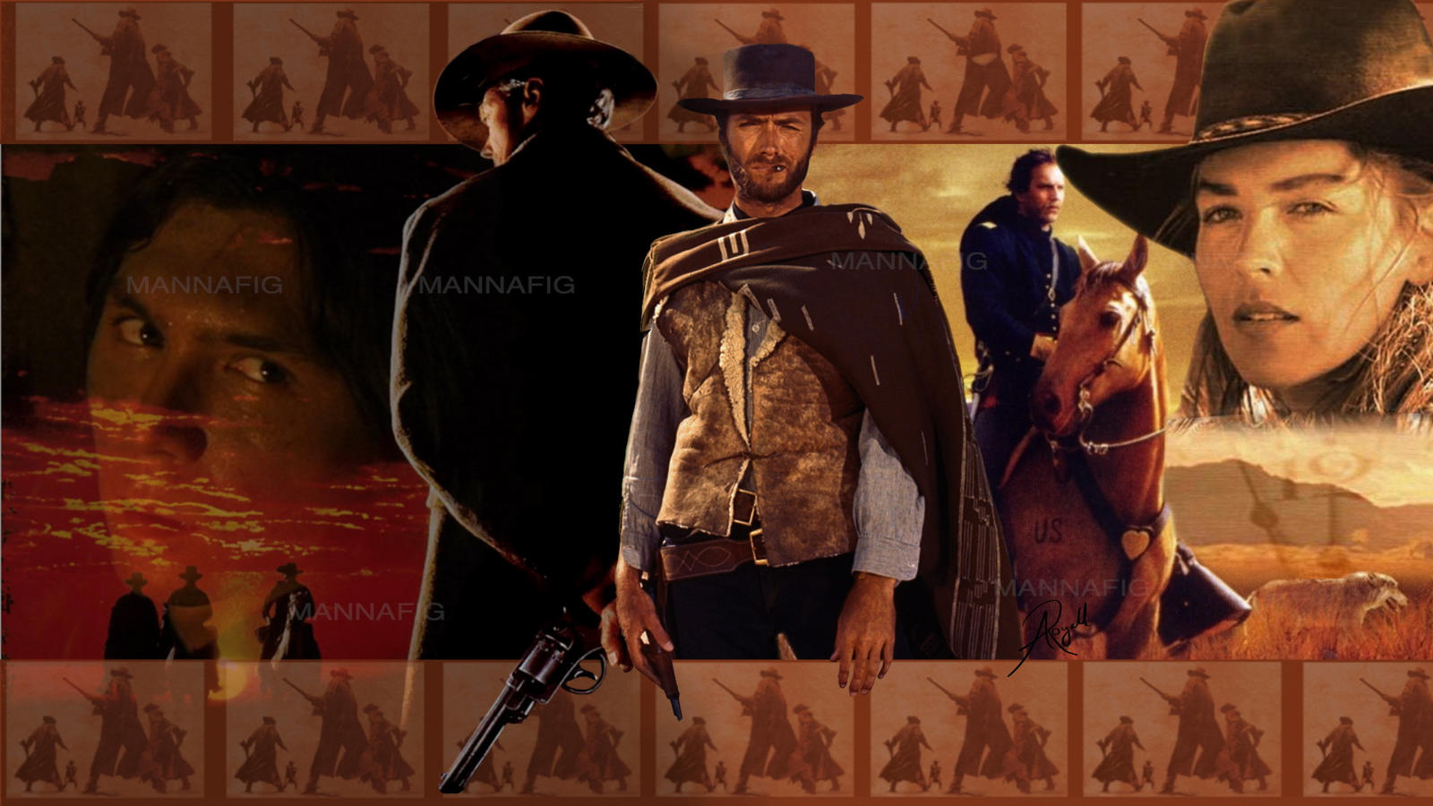 western wallpaper by mannafig on deviantart