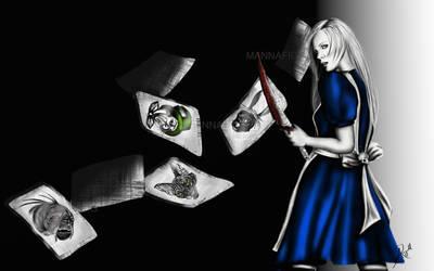Alice in wonderland by mannafig