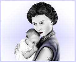 Queen Elizabeth II a Mothers love