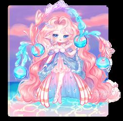 Fairy Vial: Eternal- Seashore Fairy by BabyPippo
