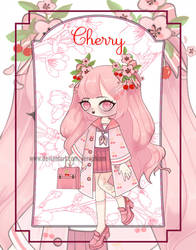 [SP] Wallflora: Fruits Basket- Cherry [OPEN] by BabyPippo