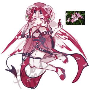 [WIP] Halloween Wallflora1-Nerium Oleande
