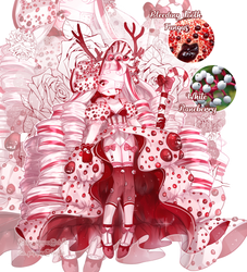 [SP] Bleeding Tooth Fungi x White Baneberry [OPEN] by BabyPippo