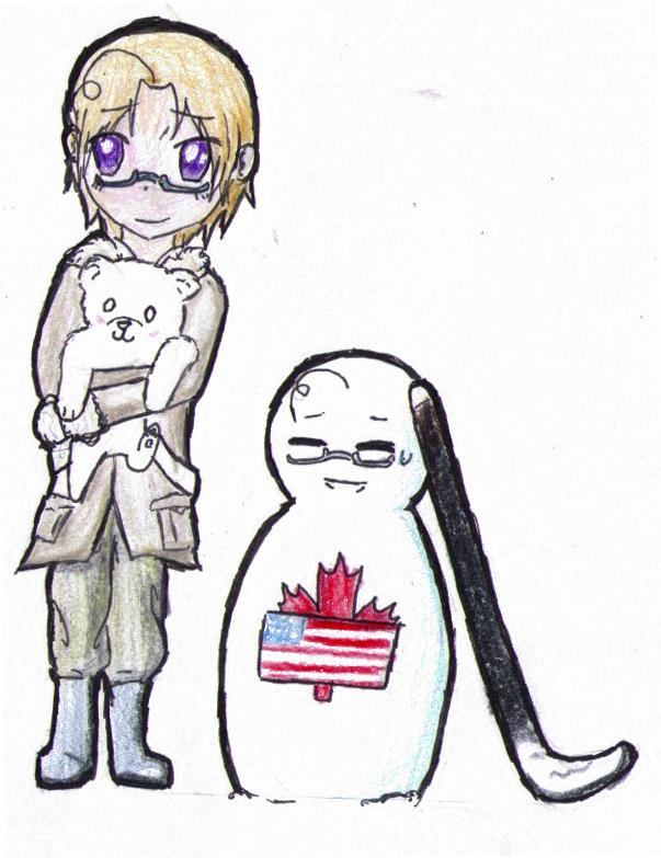 Canada's Snowman by Karak-Crow