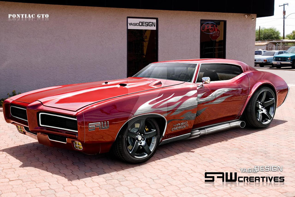Pontiac GTO yasidDESIGN by yasiddesign on DeviantArt