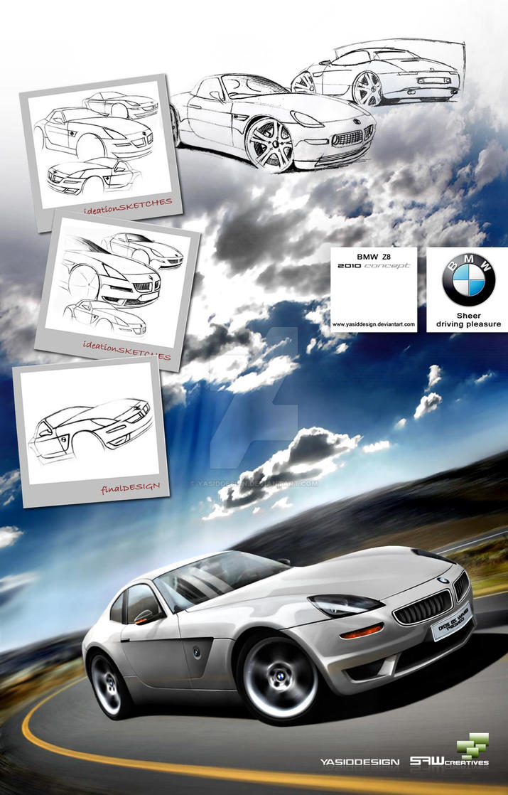 Bmw Z8 2010 Concept Project By Yasiddesign On Deviantart