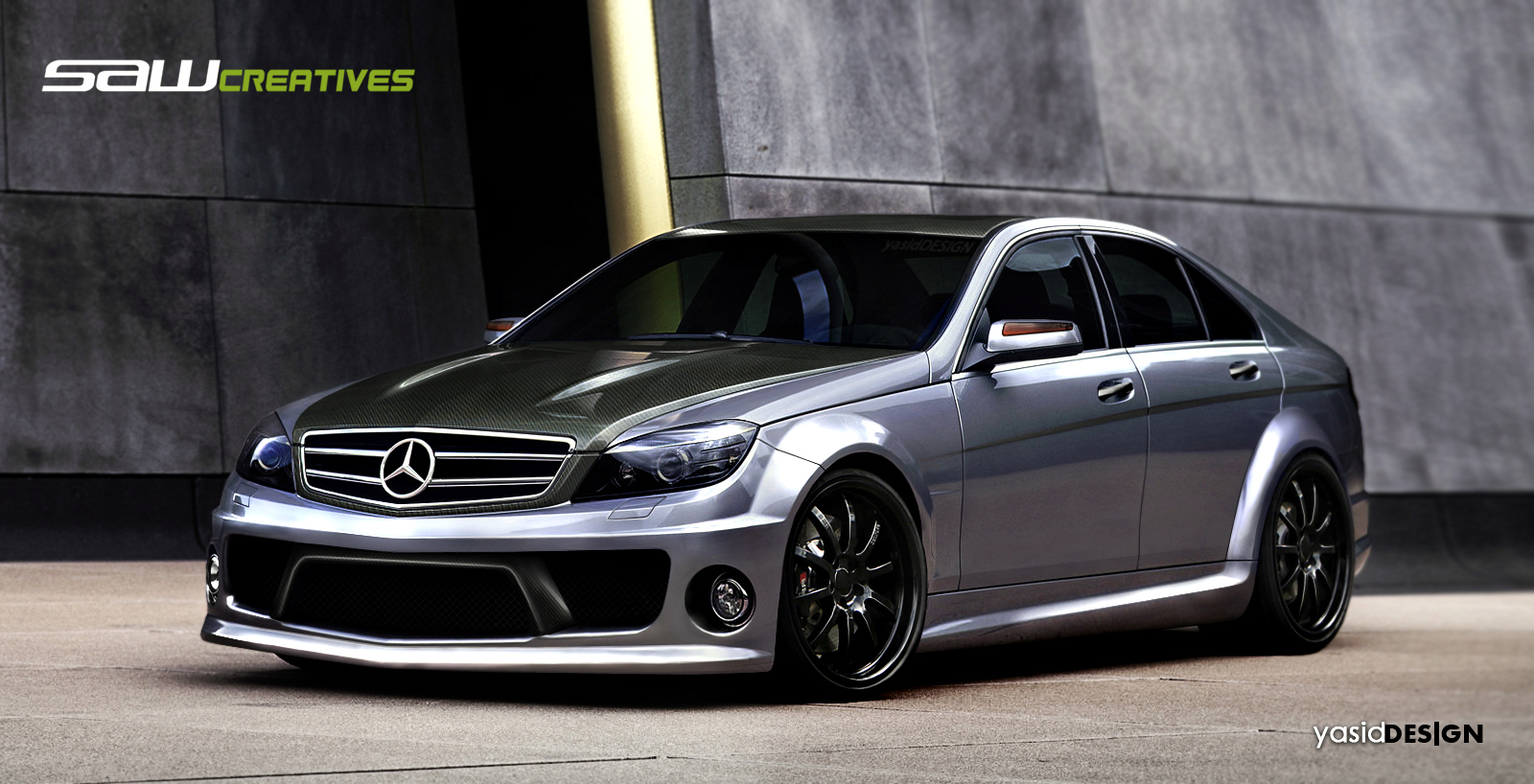 Mercedes benz c63 amg 2008 by yasiddesign on deviantart for 2008 mercedes benz amg