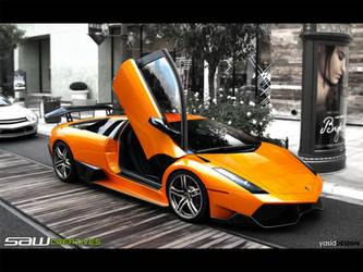 Lamborghini LP2310 by yasiddesign