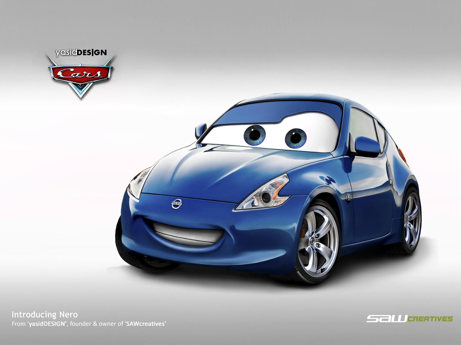Disney Cars Nissan 370z By Yasiddesign On Deviantart