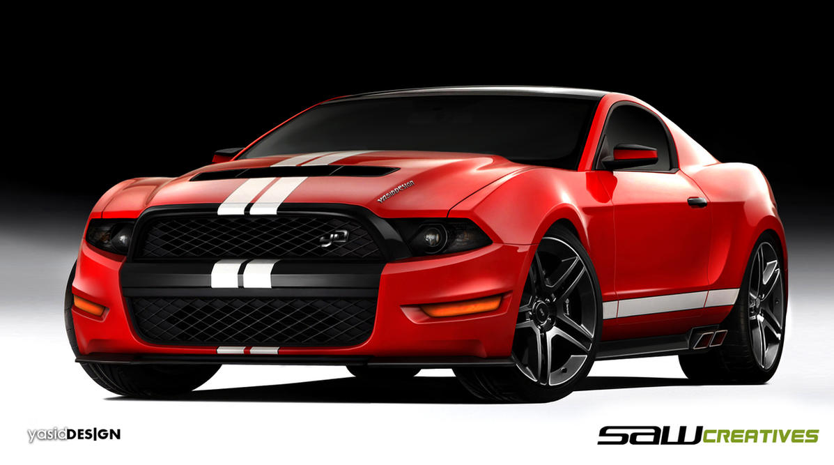 Ford Mustang concept - yD by yasiddesign
