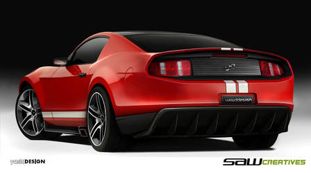 Ford Mustang concept REAR - yD by yasiddesign