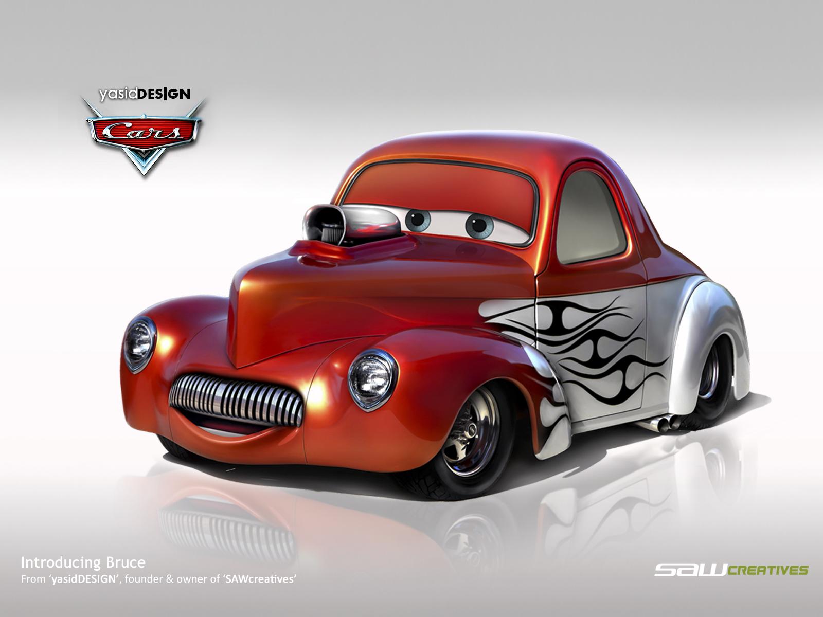 Disney Cars- BRUCE-Wil...