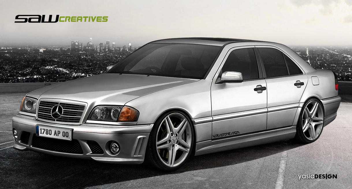 mercedes benz c class 1999 by yasiddesign on deviantart