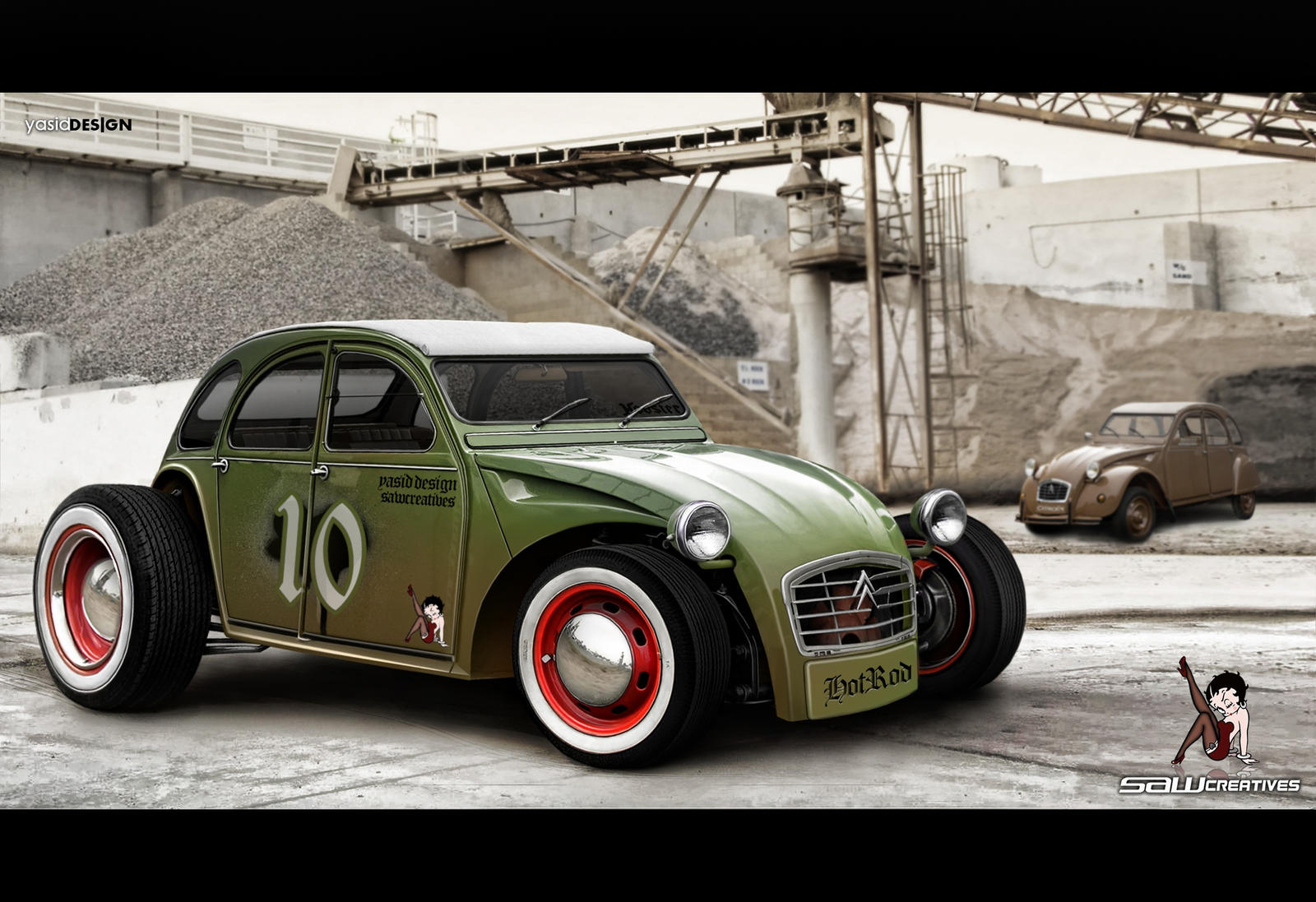 french hot rod