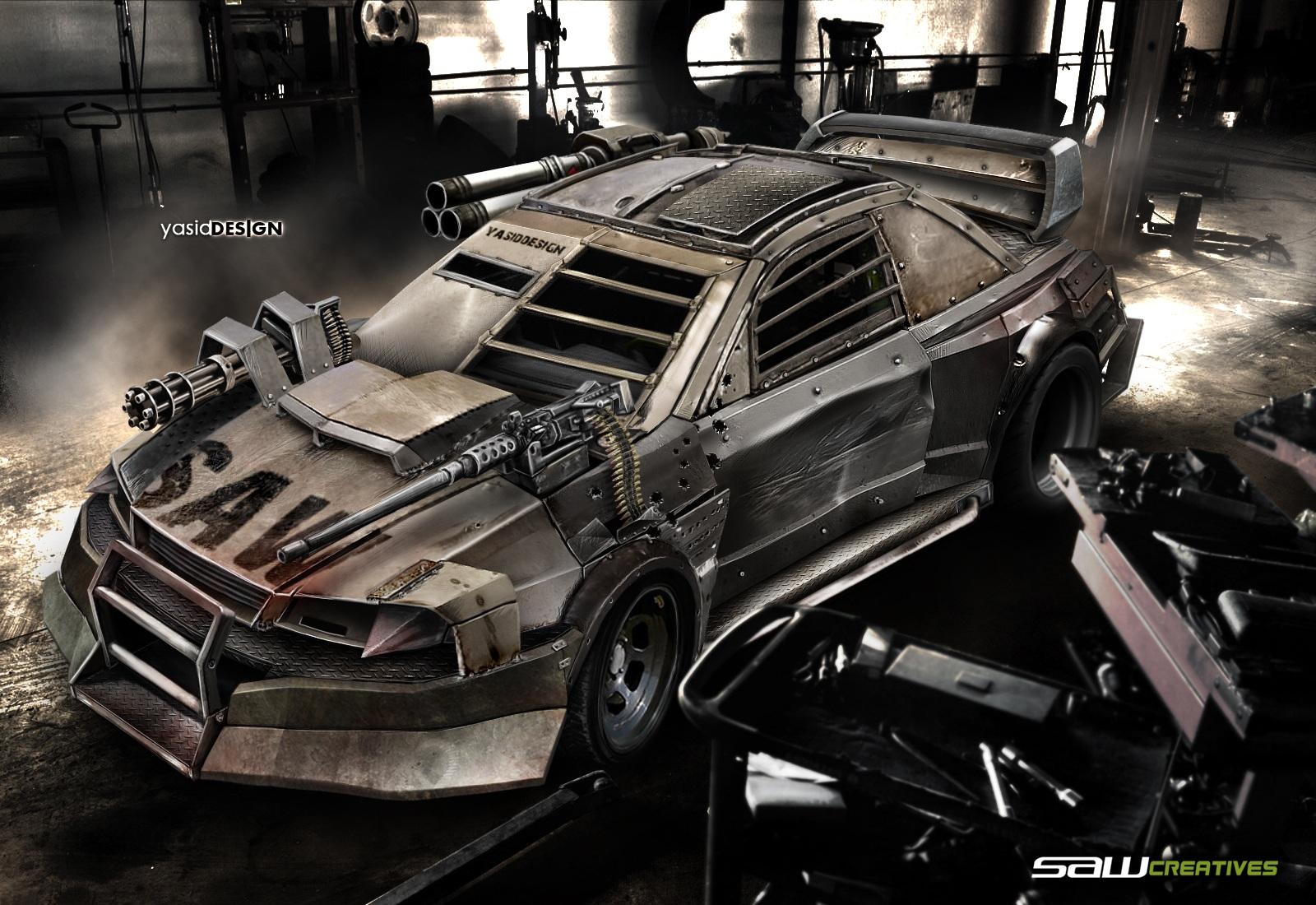 DEATHRACE Subaru Impreza 22B by yasiddesign