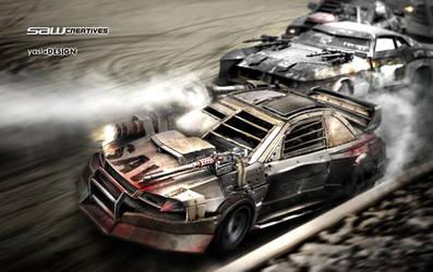 DEATHRACE Subaru Impreza 22B_2 by yasiddesign