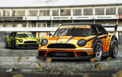 Mini one SuperGT_2 by yasiddesign