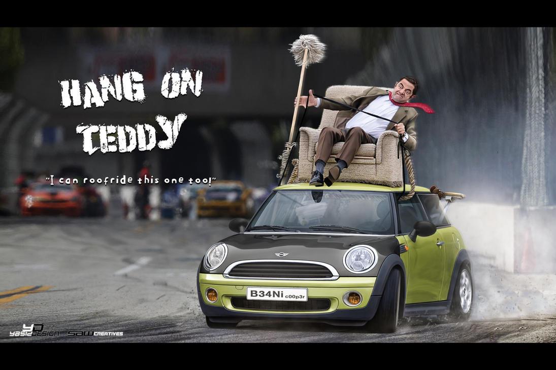 Hang on Teddy by yasiddesign