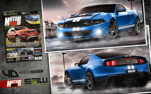 GT500 Mustang Concept yasidDESIGN published by yasiddesign