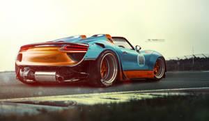 Porsche 918 spyder wide