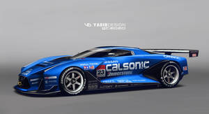GT2020 nissan Calsonic
