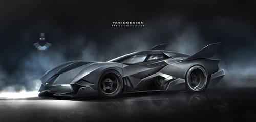 Batmobile+Egoistalines by yasiddesign