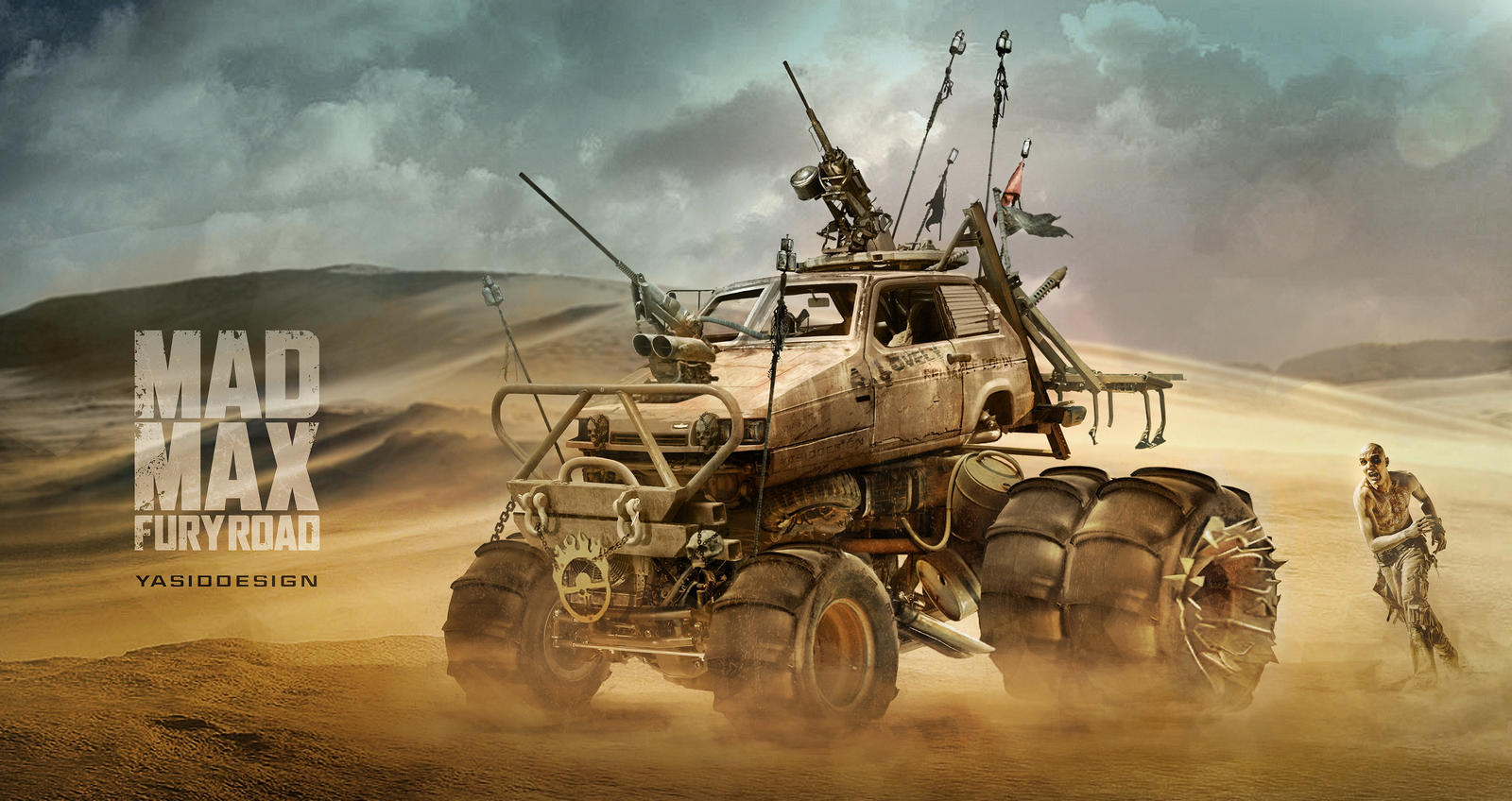 All Out Offroad >> Reliant Robin Mad max by yasiddesign on DeviantArt
