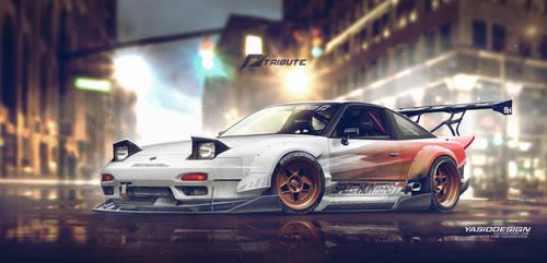 Nissan 240sx NFS Tribute Speedhunters by yasiddesign