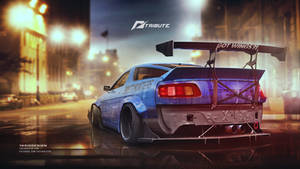 Porsche 928 Need for speed tribute