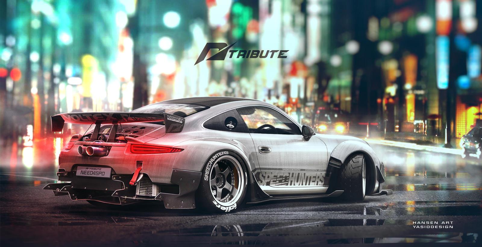 Speedhunters Porsche 911 NFS Tribute 1 by yasiddesign